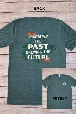 Honoring the Past, Brewing the Future T-Shirt