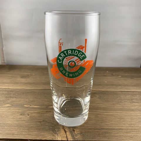 Cartridge C Factory Pint Glass
