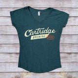 Ladies' V-Neck Cartridge Tee
