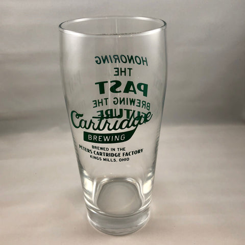 Cartridge Brewing Pint Glass