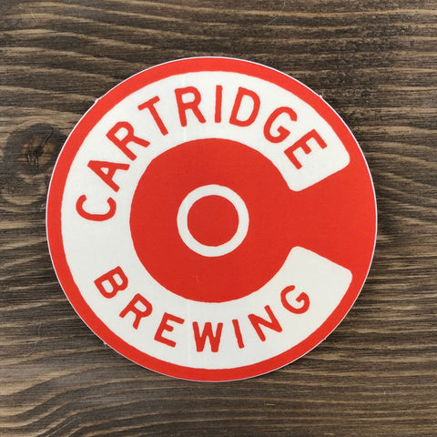 Cartridge Circle C Logo Sticker