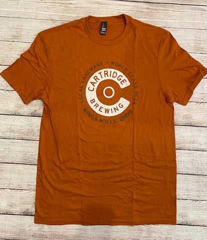 Orange Cartridge Circle C T-Shirt