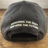 Cartridge Front/Back Embroidered Flat Brim Hat