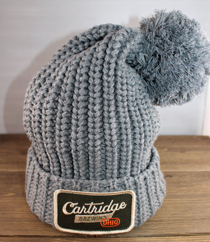 Richardson Chunk Pom Cuff Beanie with Cartridge Patch