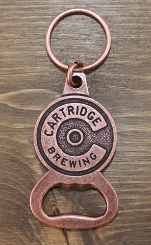Cartridge C Bottle Opener Keychain