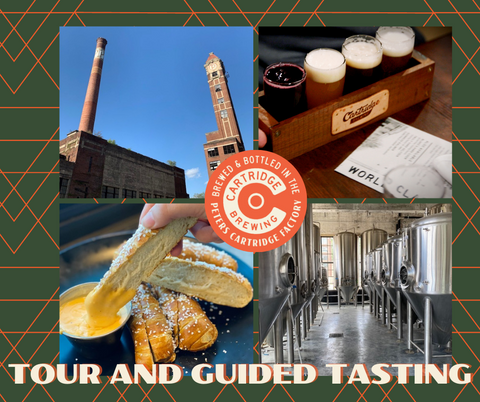 Cartridge Brewing - Tour and Guided Tasting