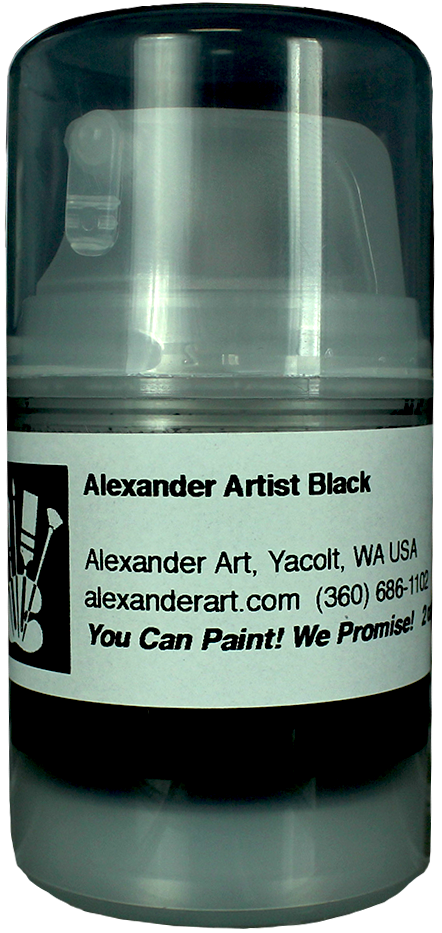 Alexander Artists' Black™ - 2.5 oz