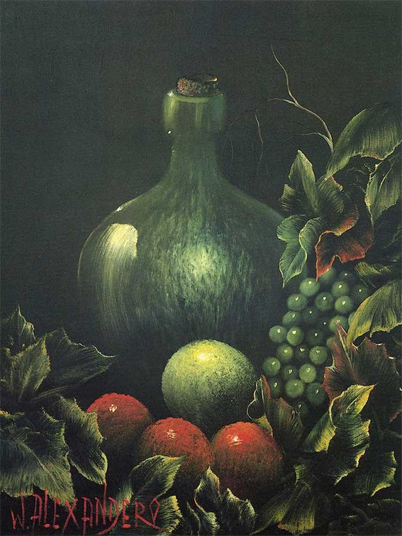 Grapes and a Jug