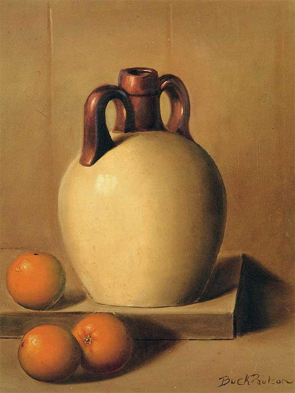 Jug and Oranges