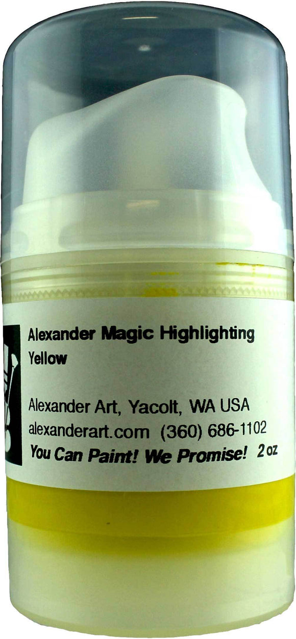 Alexander Magic Highlighting Yellow - 2.5 oz