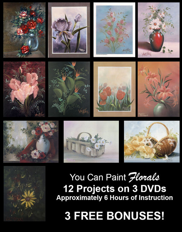 Learn To Paint Florals
