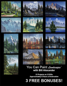 Learn To Paint Landscapes  with Bill Alexander