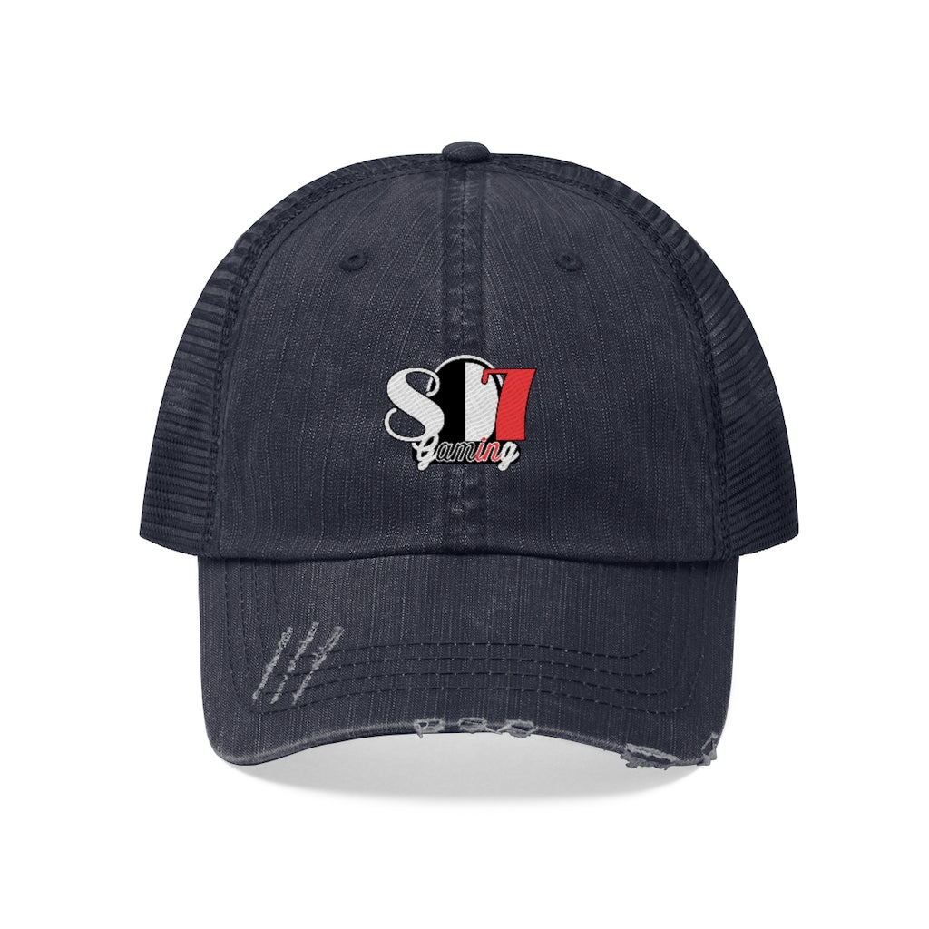 t-807 EMBROIDERED TRUCKER HAT
