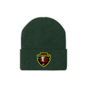 o-stx EMBROIDERED BEANIE