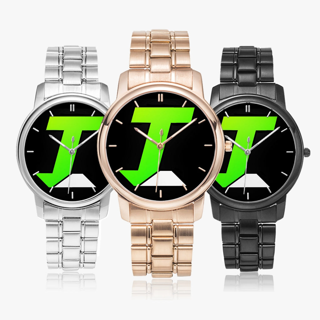 t-int STAINLESS STEEL BAND WATCHES