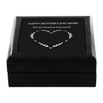 md21 Mother's Day Genuine Wood Jewelry Box