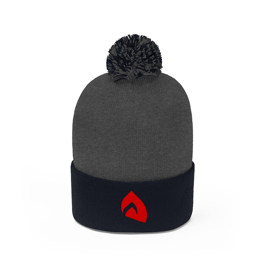 t-int EMBROIDERED POM POM BEANIE
