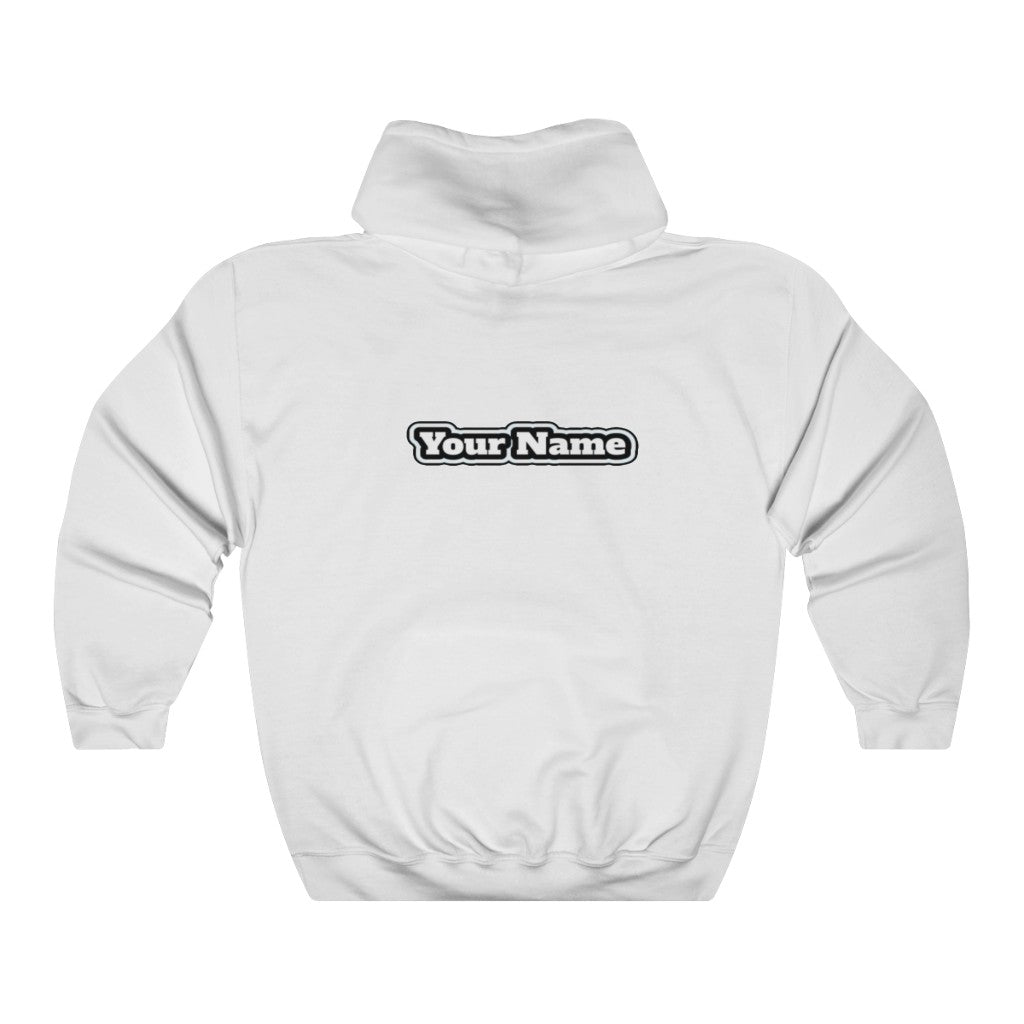t-sog HOODIE WITH YOUR NAME ON BACK