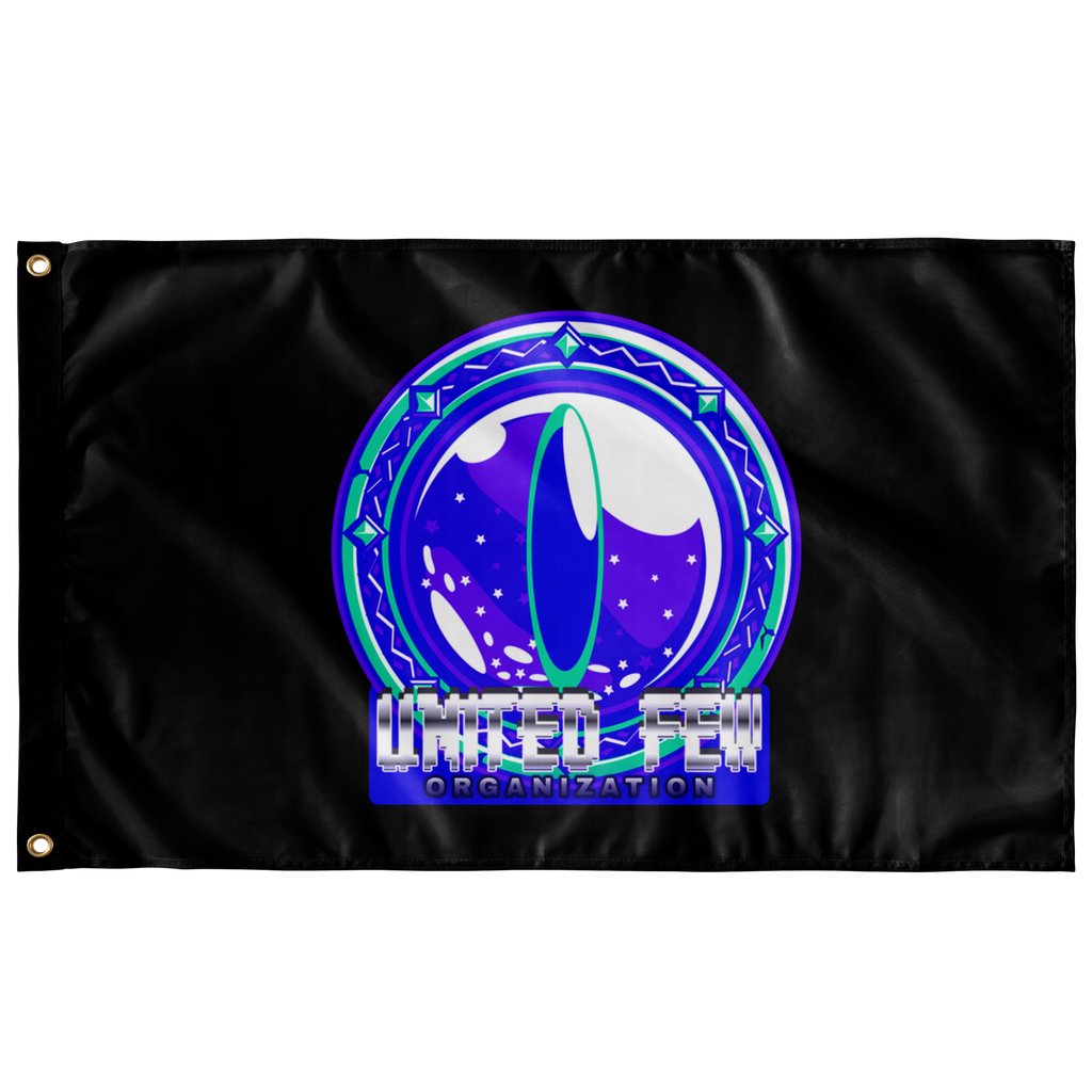 t-ufo WALL FLAG HORIZONTAL