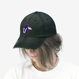 t-unv EMBROIDERED TRUCKER HAT