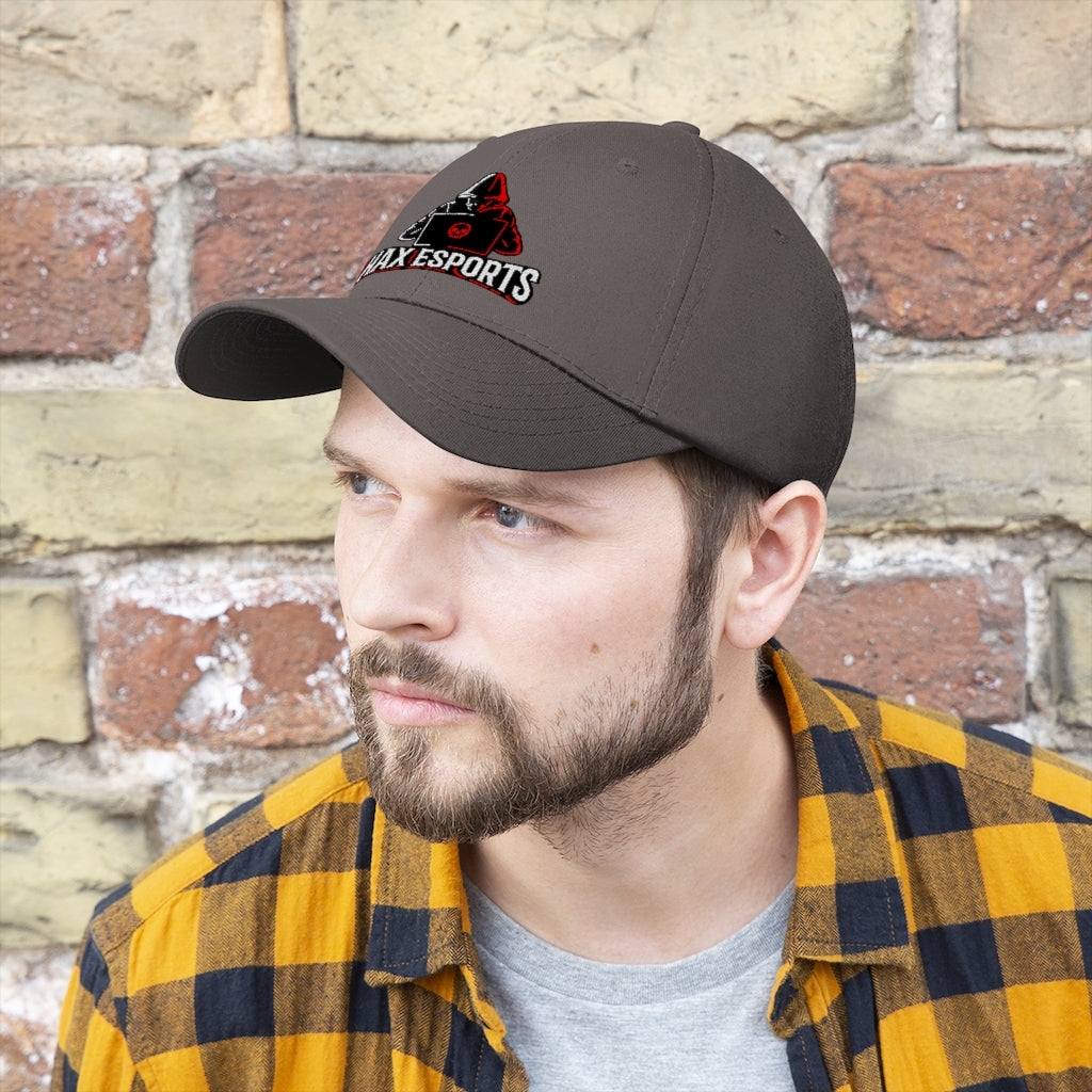 t-hax EMBROIDERED TWILL HAT