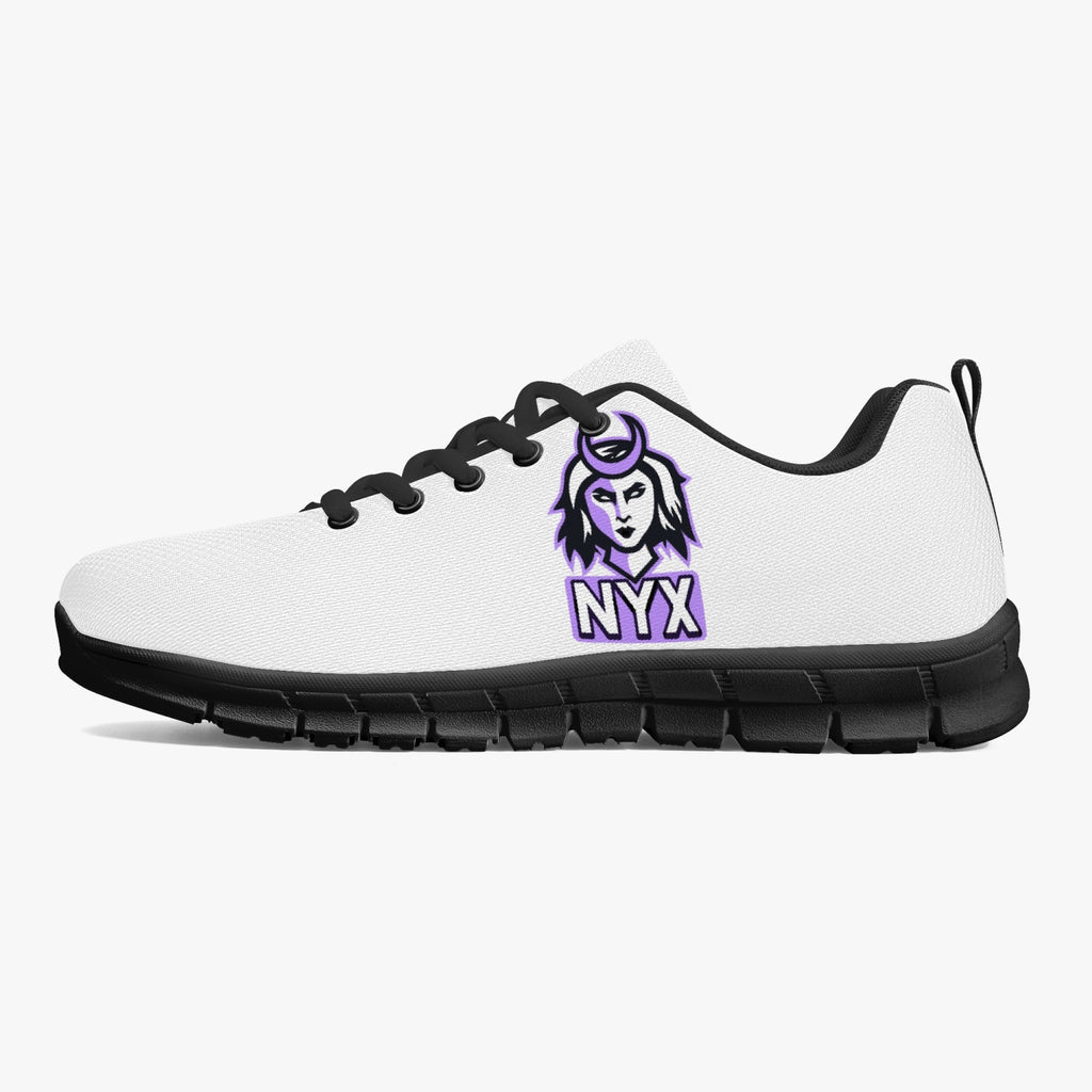 nyx Classic Lightweight Mesh Sneakers - White/Black