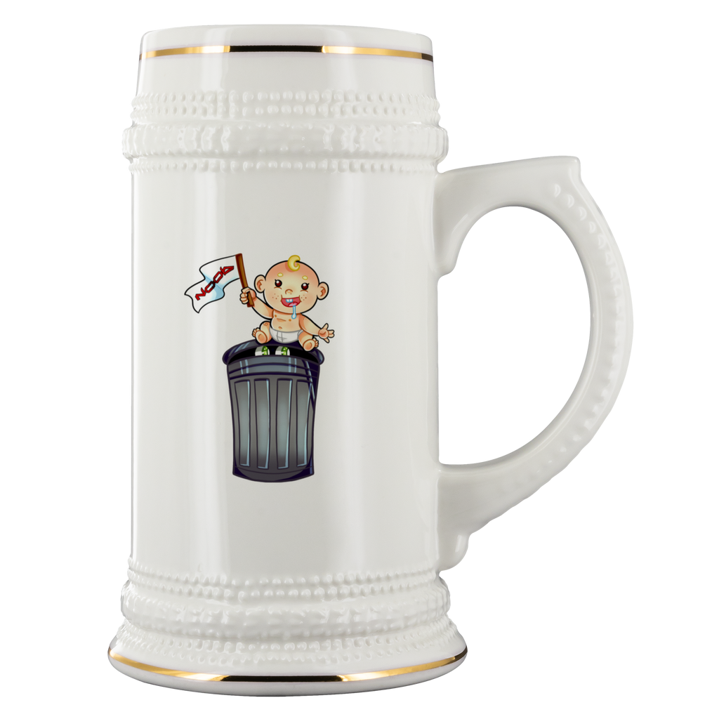 t-no 22oz DRINK STEIN