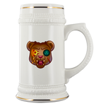t-no PIZZA BEAR DRINK STEIN