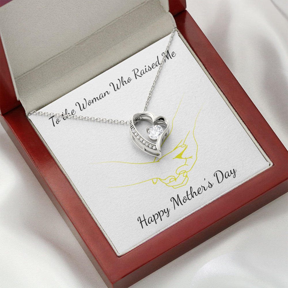 md21 Mother's Day Heart Necklace