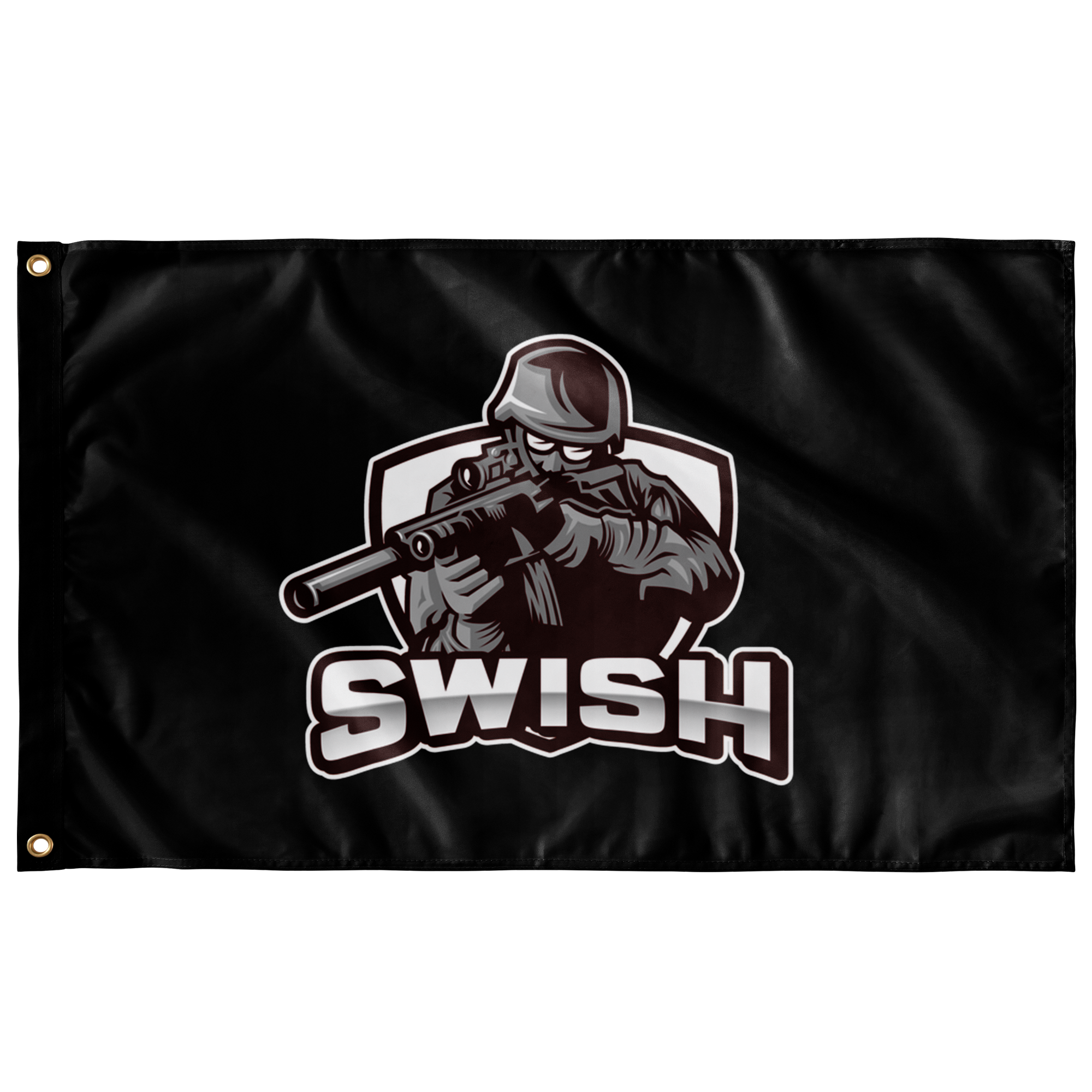 swi WALL FLAG HORIZONTAL