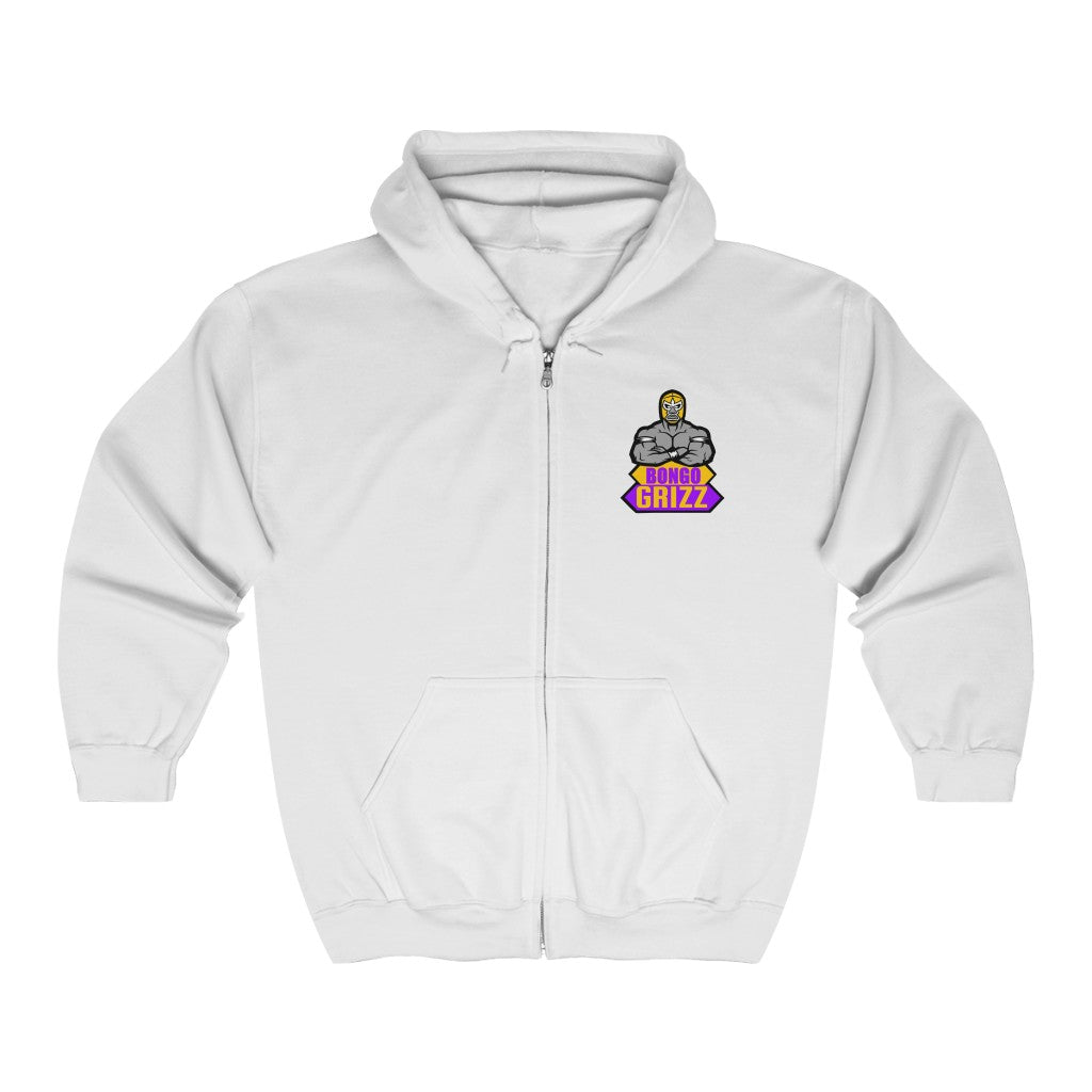 s-bg Heavy Blend™ Full Zip Hooded Sweatshirt