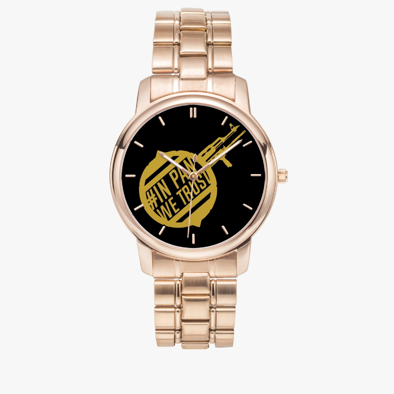 inpan Stainless Steel Quartz Watch