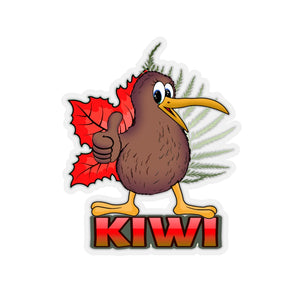 kiwi Kiss-Cut Stickers