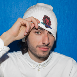 t-fz EMBROIDERED BEANIE