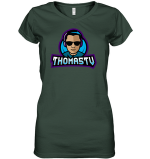 s-t5 LADIES V NECK
