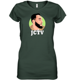 s-jc LADIES V NECK