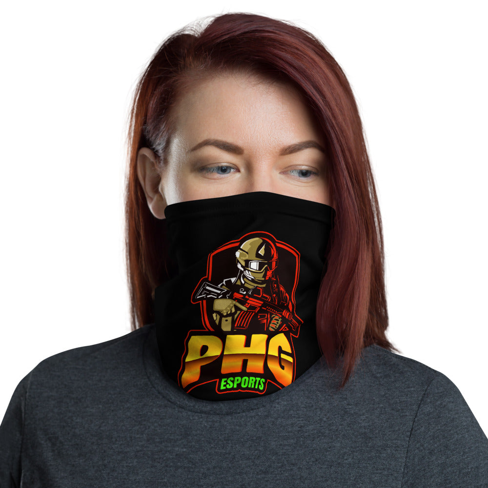 t-phg FACE MASK/ NECK GAITER BLACK