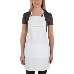 s-bb EMBROIDERED APRON