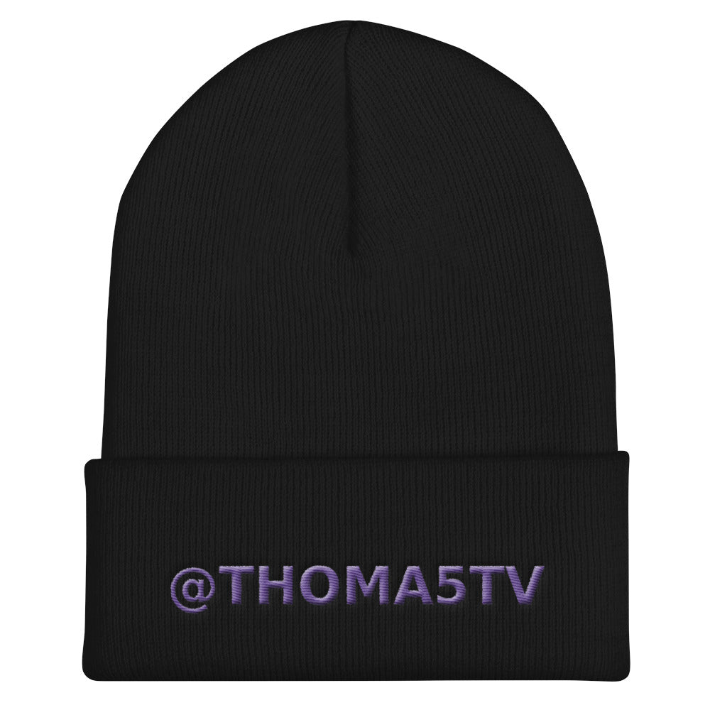 s-t5 EMBROIDERED BEANIE!
