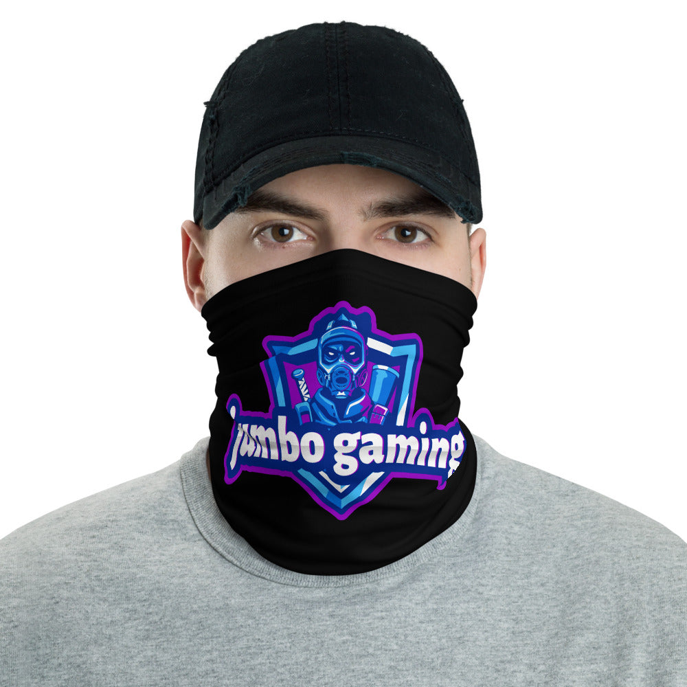 t-jg FACE MASK/ NECK GAITER BLACK