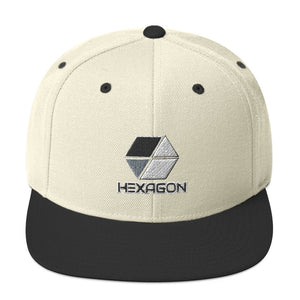 s-hex EMBROIDERED FLAT BRIM HAT