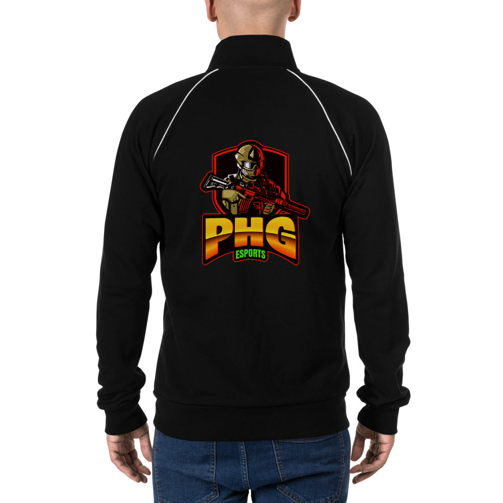 t-phg PIPED FLEECE JACKET