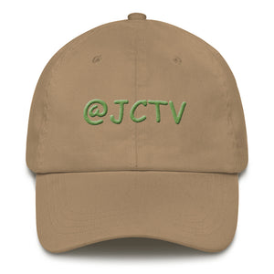 s-jc PUFF EMBROIDERED DAD HAT!