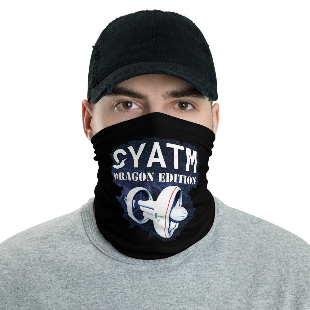t-ii FACE MASK/ NECK GAITER BLACK