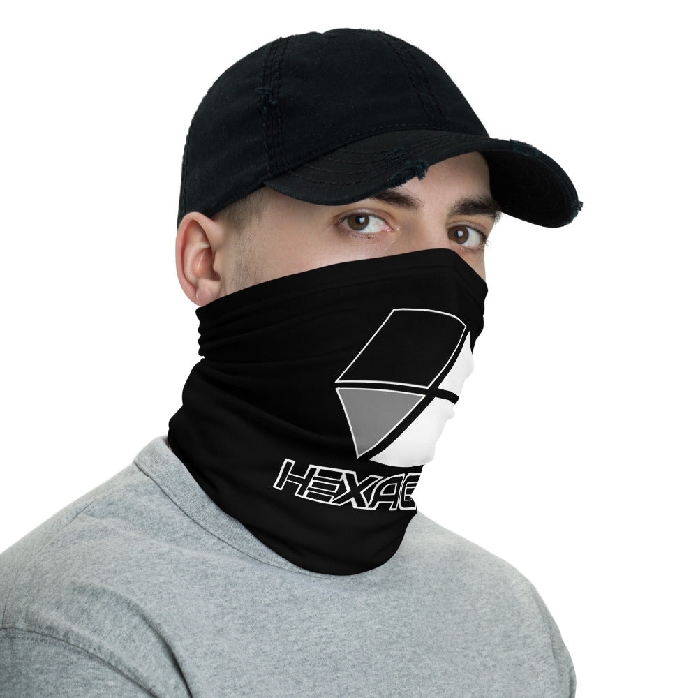 s-hex FACE MASK/ NECK GAITER BLACK