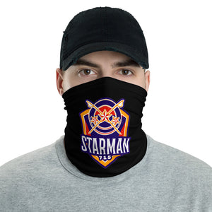 s-sm FACE MASK/ NECK GAITER BLACK