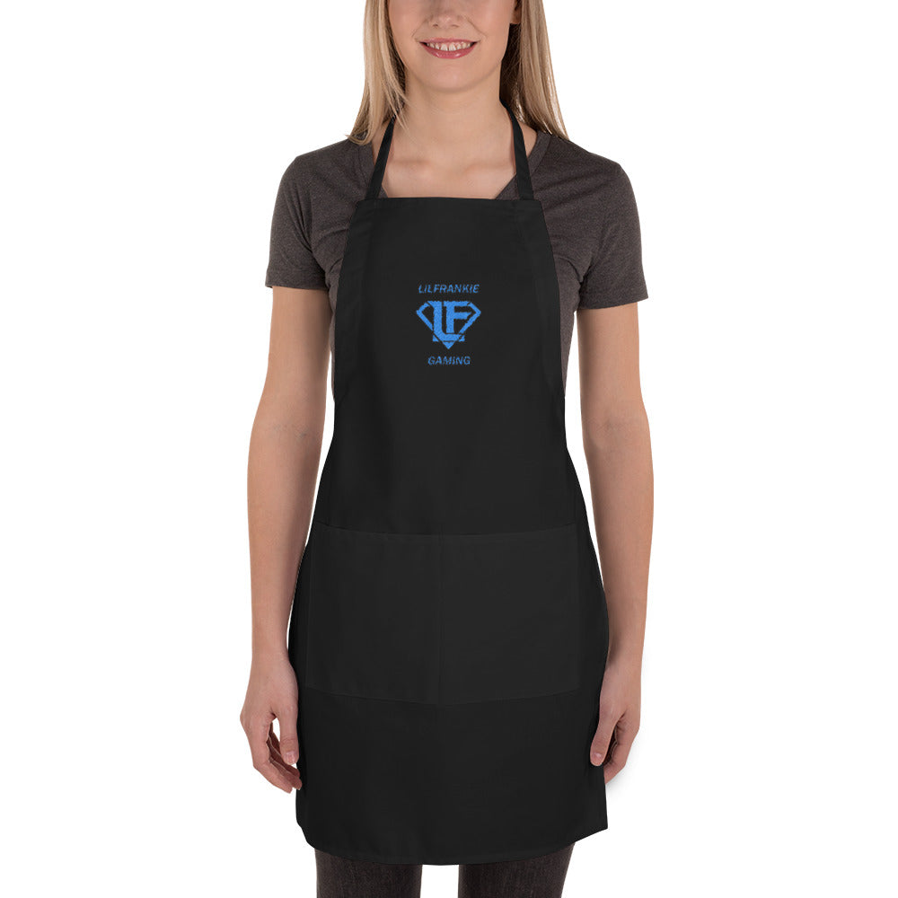 s-li EMBROIDERED APRON