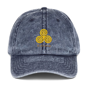 s-kk EMBROIDERED VINTAGE CAP