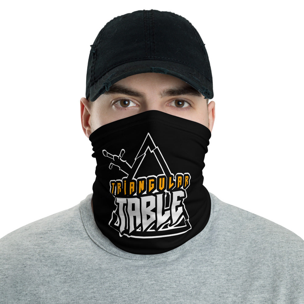 t-tt FACE MASK/ NECK GAITER BLACK