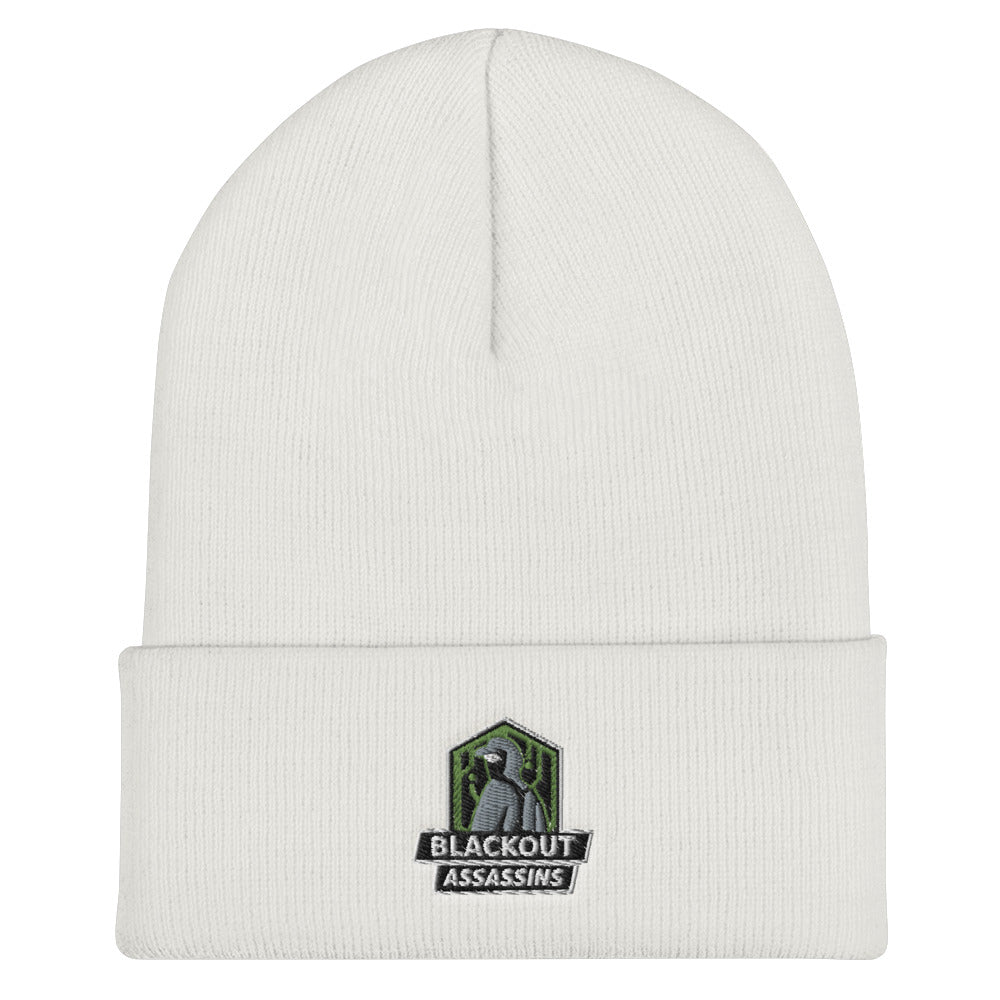 t-ba EMBROIDERED BEANIE